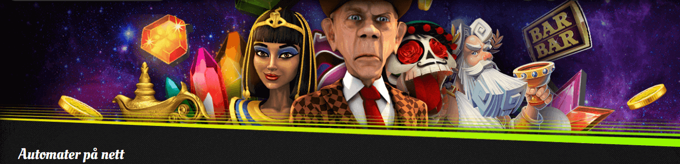 Spilleautomater hos 888 Casino
