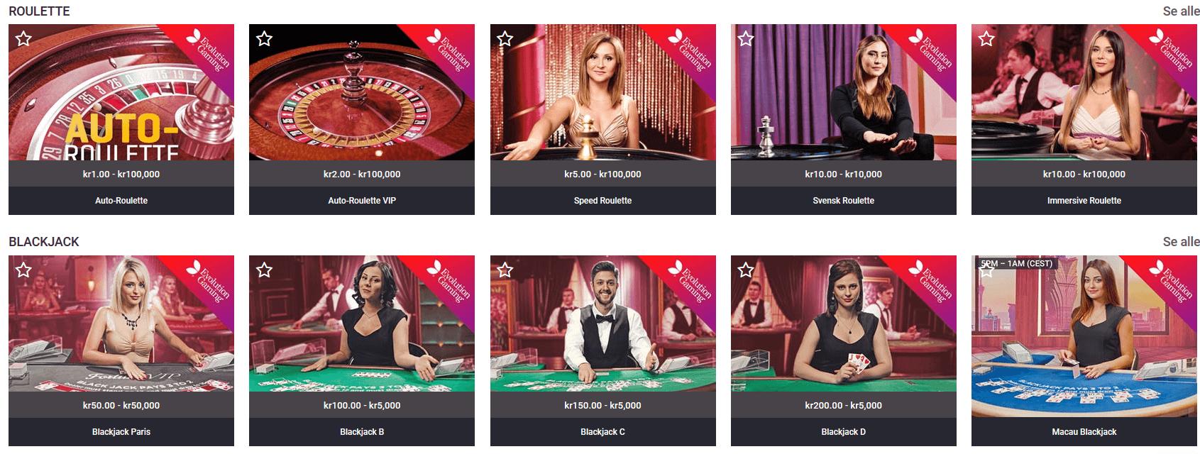 Live Casino Guts