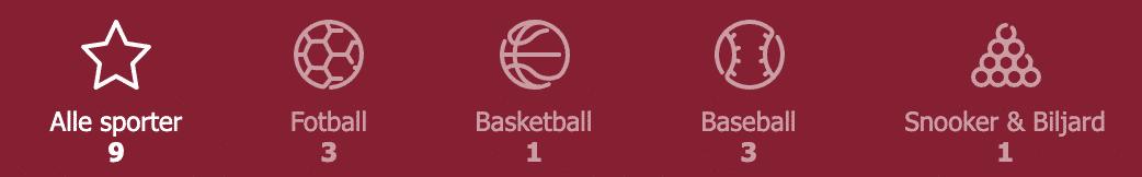 Cherrycasino sport og odds