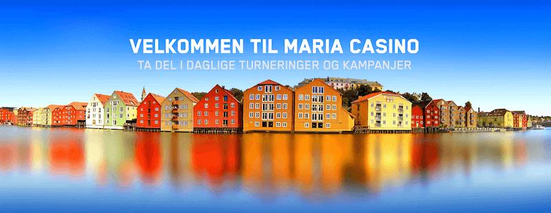 Maria Casino velkomstbonus