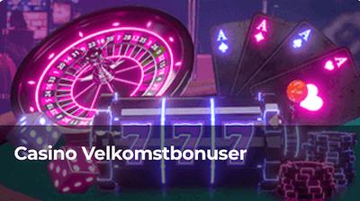 Velkomstbonus for casino hos Betzest