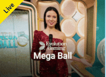 Mega ball – Nytt gameshow-spill fra Evolution Gaming