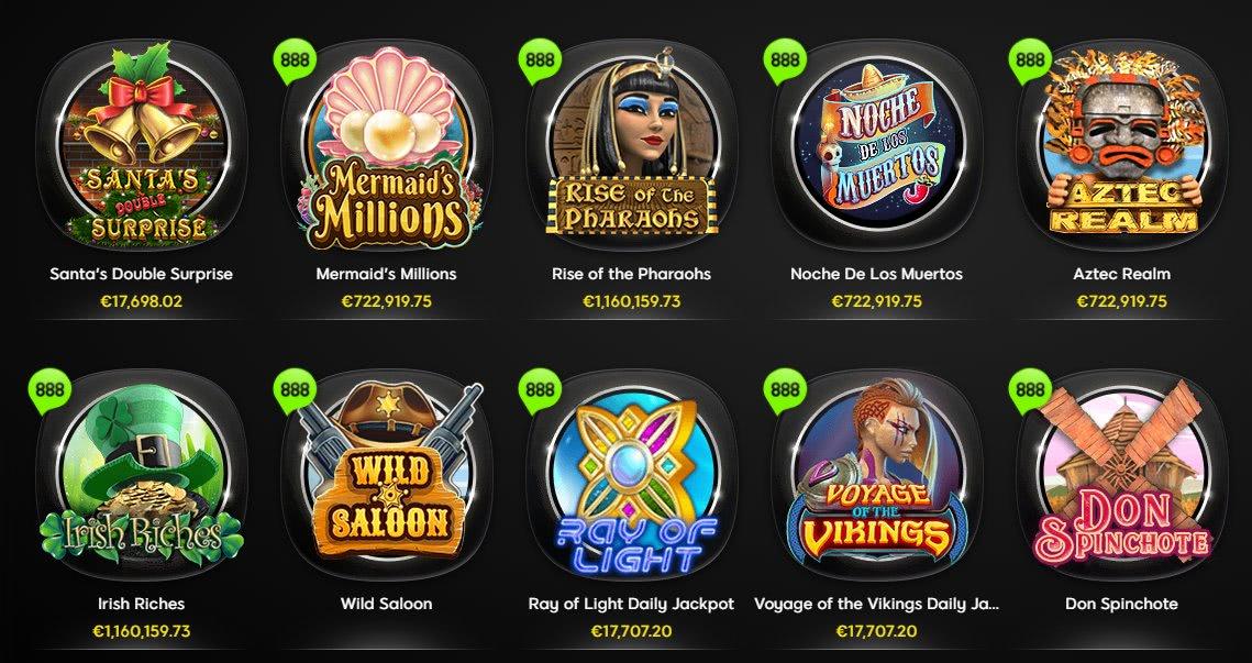 888 casino spil