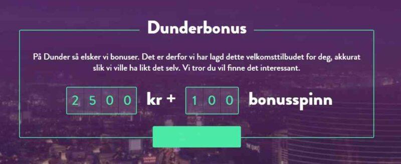 Dunderbonus