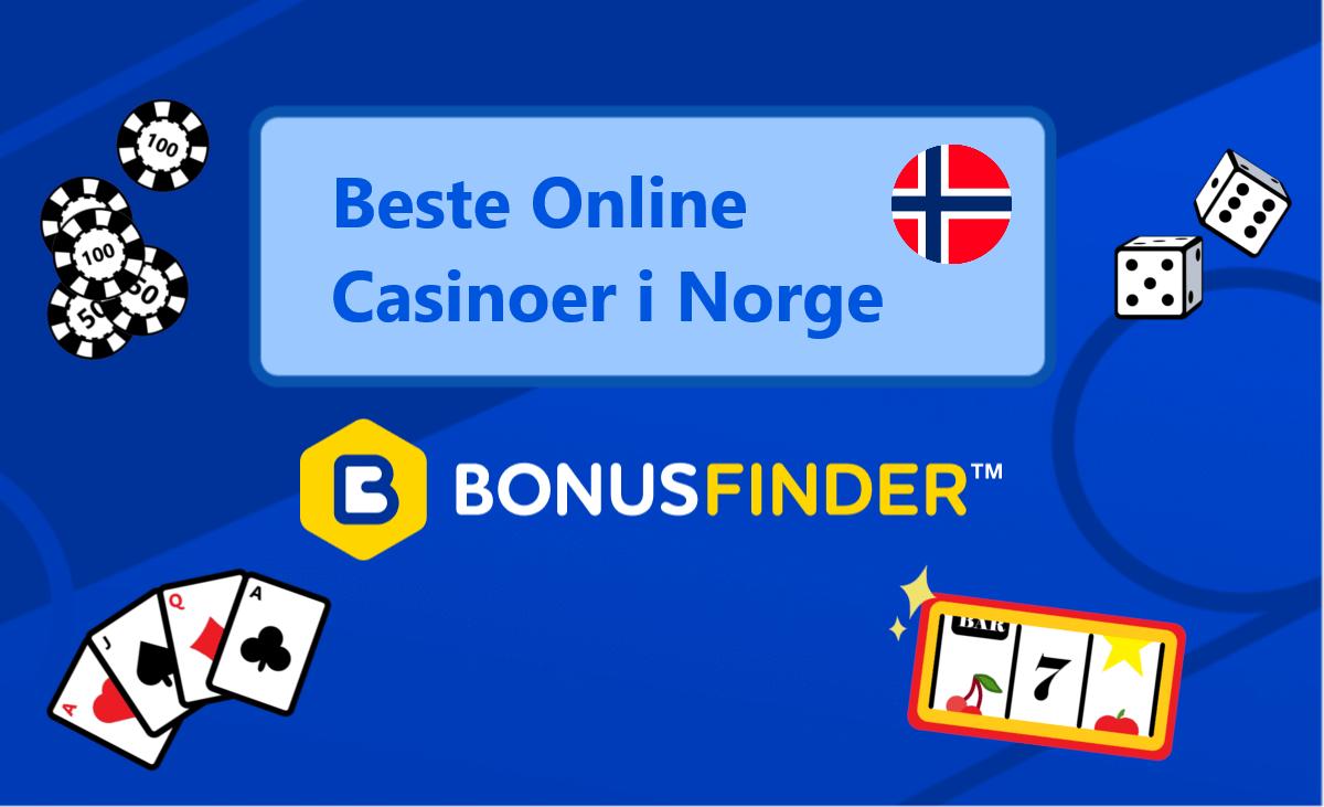 beste online casinoer i norge