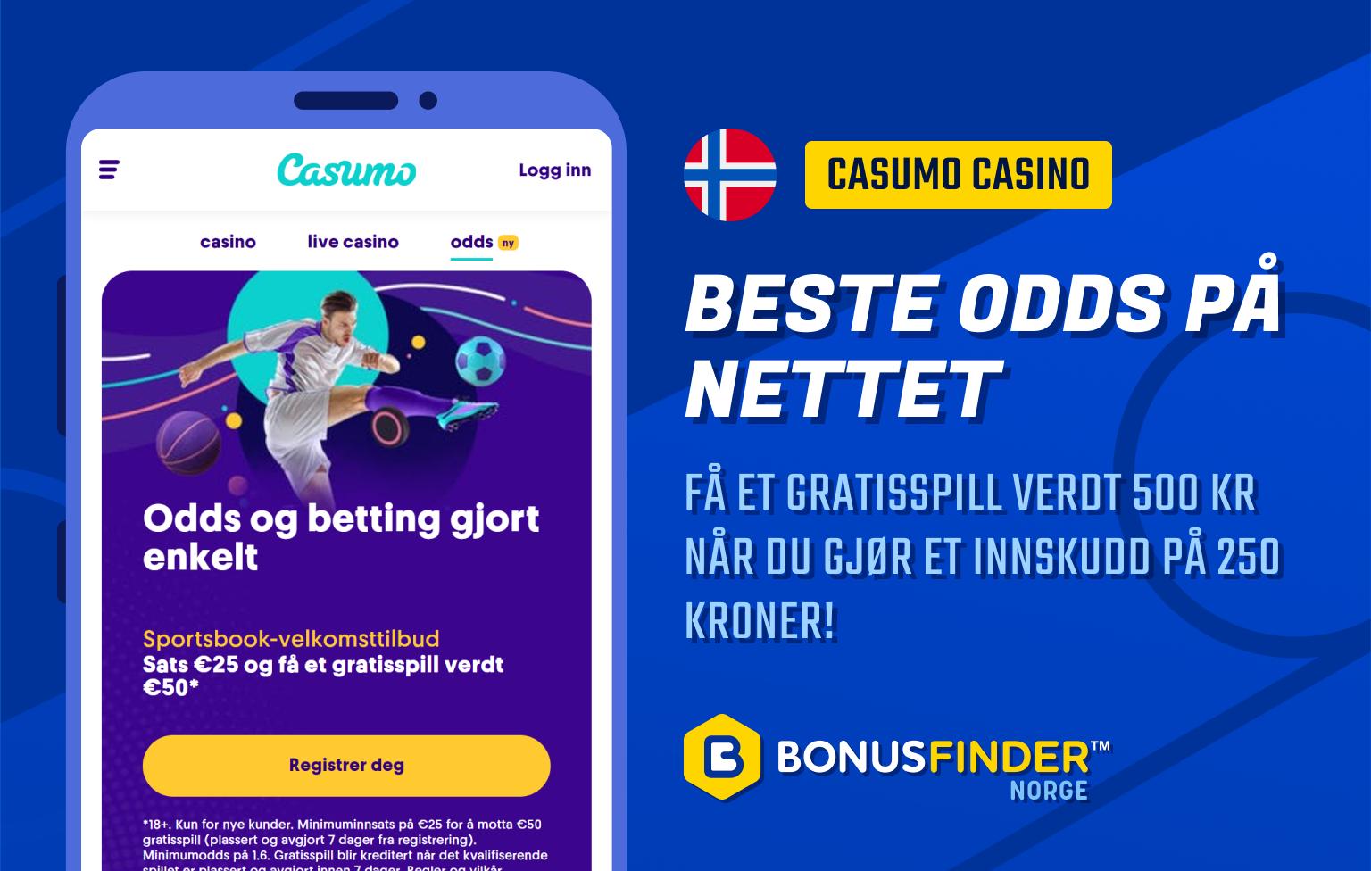 casumo casino odds