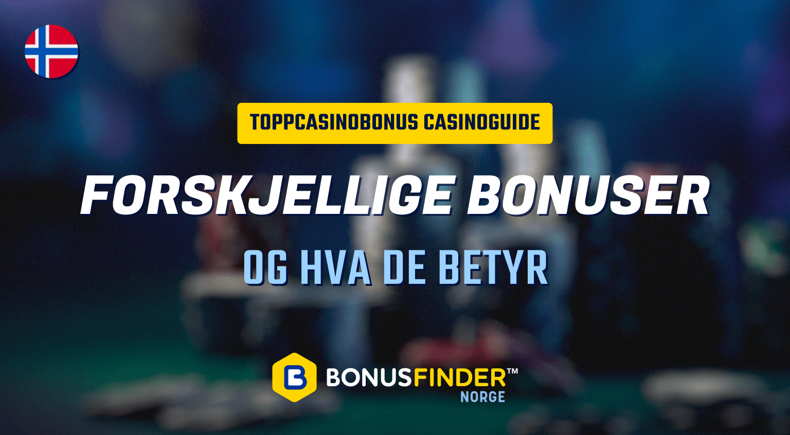 forskjellige bonuser