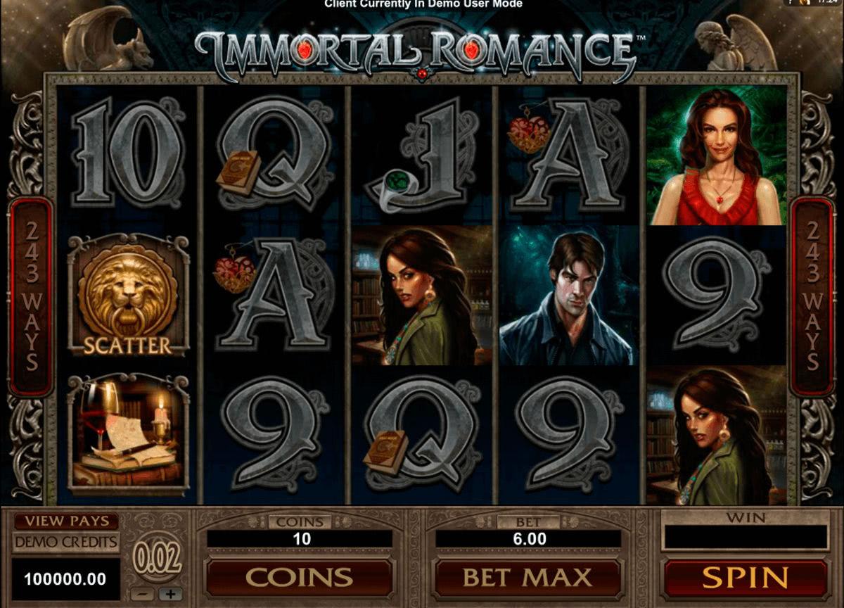 Immortal Romance spill