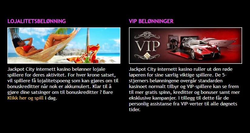 norske spillere vip-verter