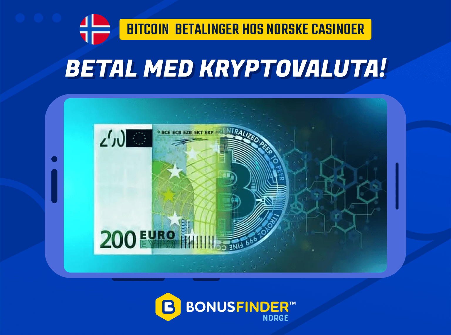 betale med bitcoin