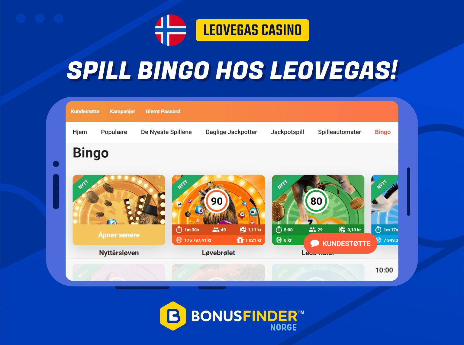 leovegas bingo