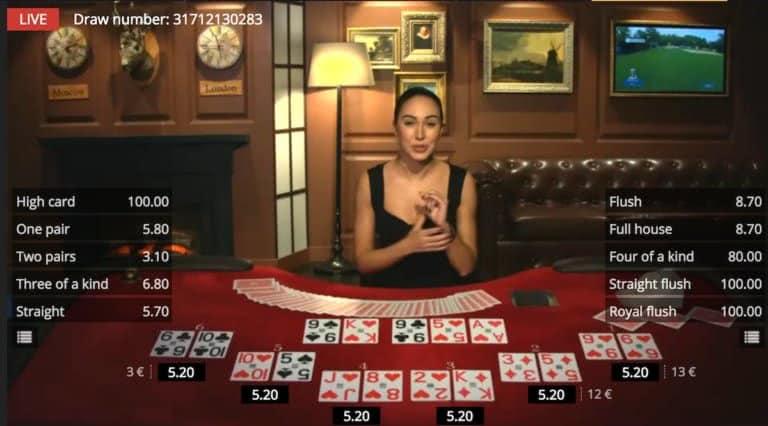 norge live casino