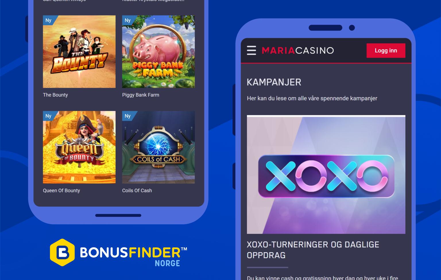 maria mobil casino