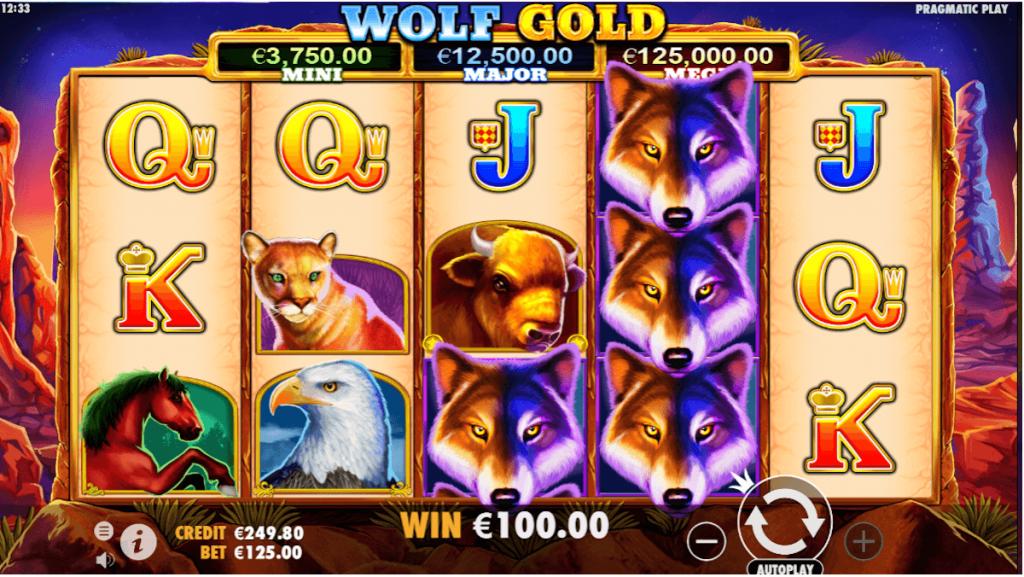 norske spilleautomat wolf gold