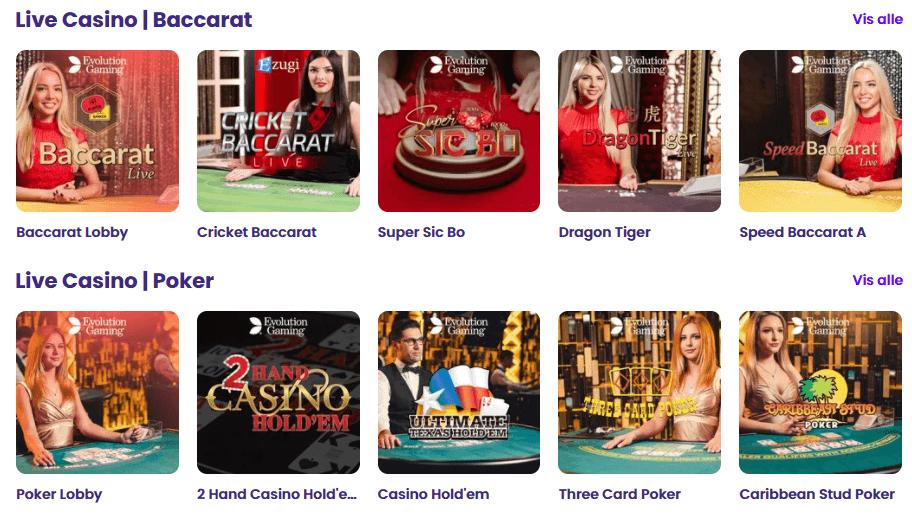 wildz live casino