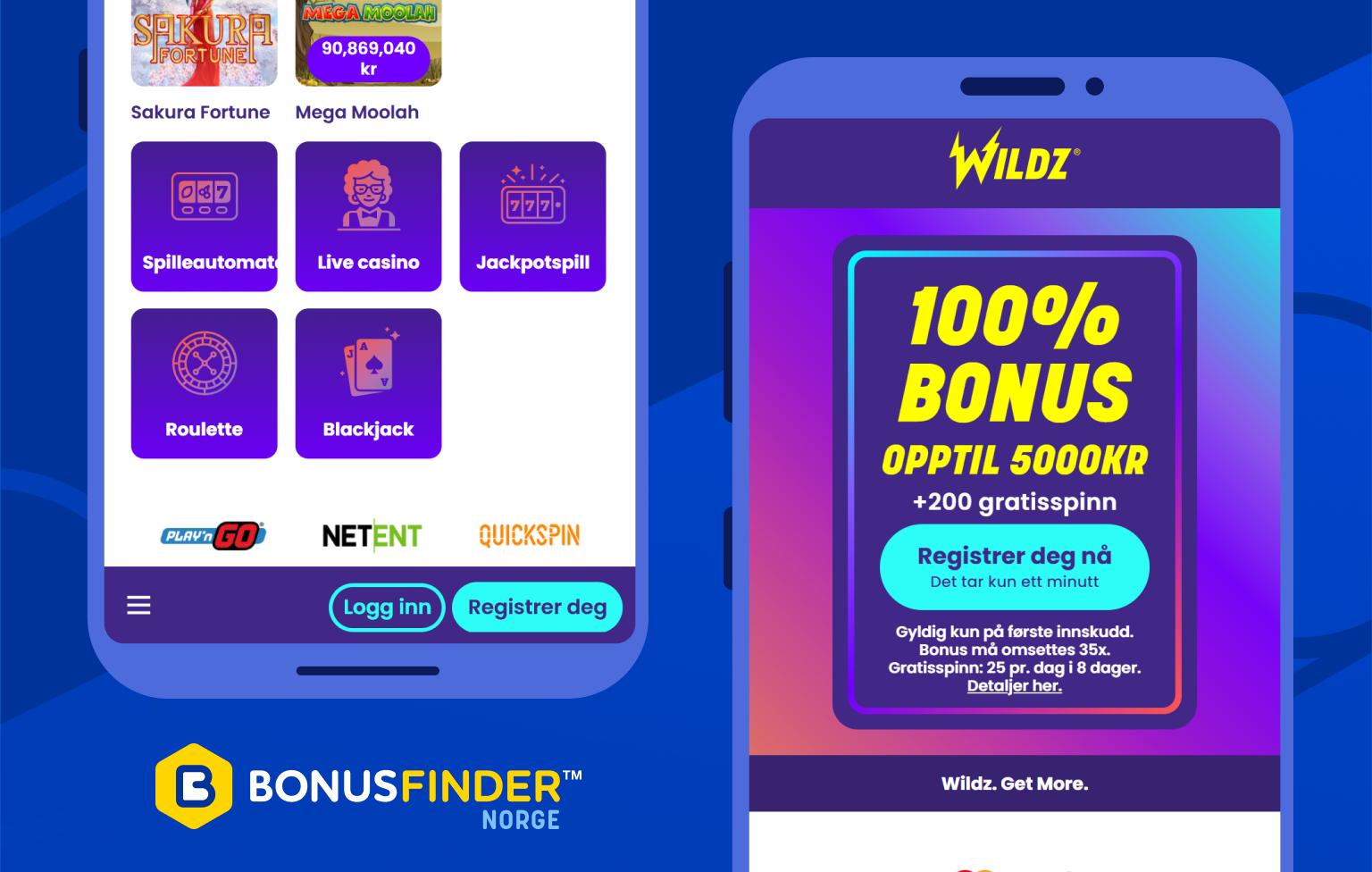 wildz 200 gratisspinn