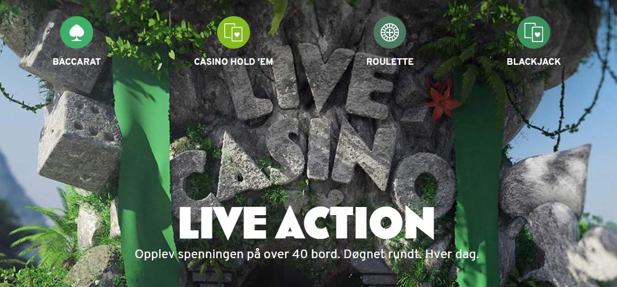 live spill norske
