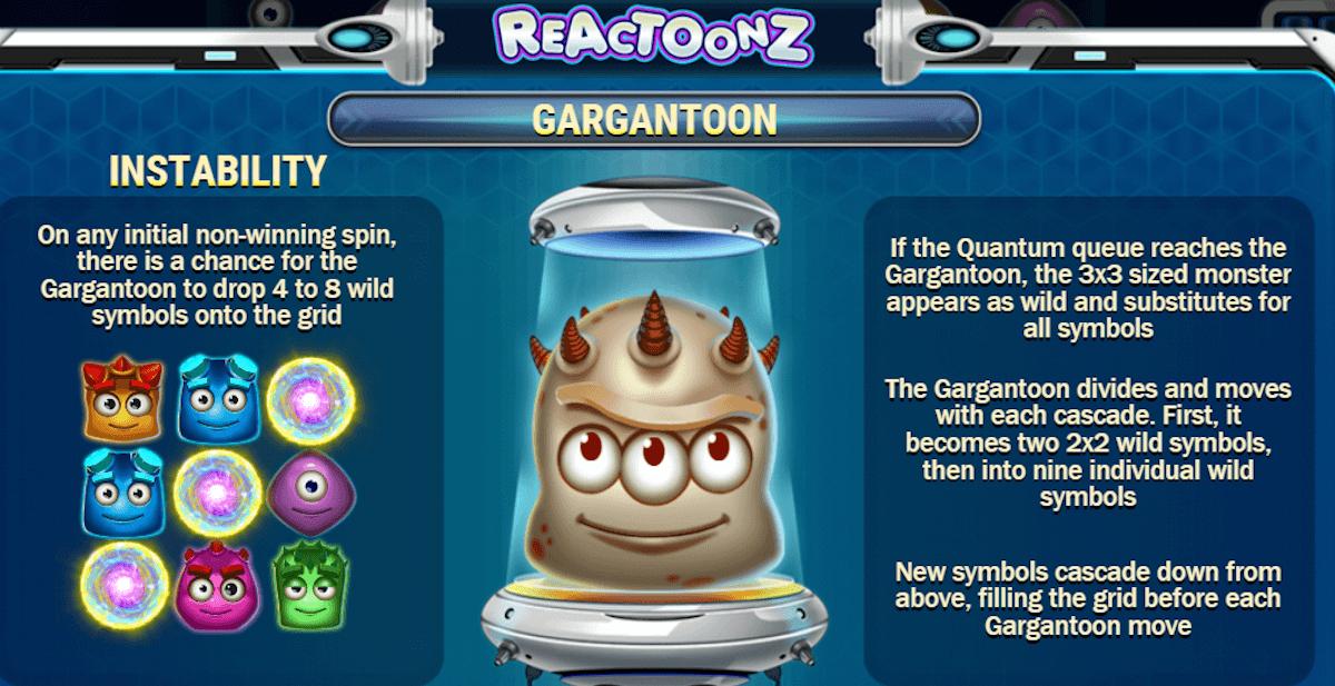 reactoonz spilleautomat norge